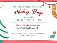 Holiday Bingo with UPB