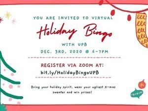 Holiday Bingo with UPB