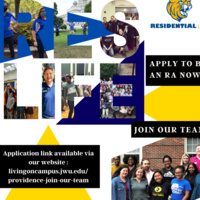 Apply to be a Resident Assistant!
