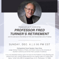 Celebrating Professor Fred Turner's Retirement