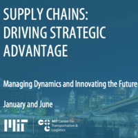 Executive Education - Supply Chains: Driving Strategic Advantage