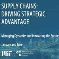 Executive Education - Supply Chains: Driving Strategic Advantage