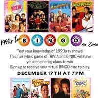 90s TV Bingo