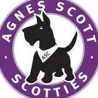 Agnes Scott College Scottie Dog Graphic
