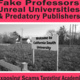 ORI Seminar - Fake Professors, Unreal Universities & Predatory Publishers: Exposing Scams Targeting Academia