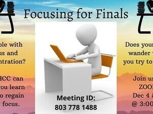 Focusing for Finals