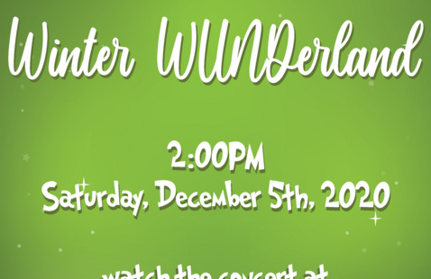Winter WUNDerland Concert (recorded)