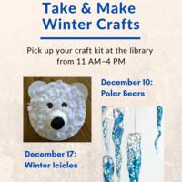 Take & Make Winter Crafts