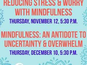 Mindfulness: An Antidote to Uncertainty & Overwhelm