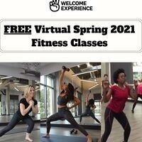 Virtual Spring 2021 Group Fitness Schedule