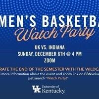UK vs. IU Women's Basketball Watch Party