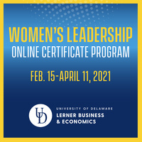 Women's Leadership Online Certificate