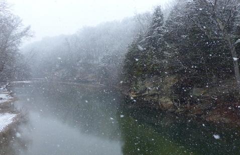 View from Suspension Bridge