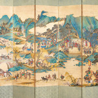 A Royal Outing:  Conservation of the Allen's Folding Screen by the National Museum of Korea