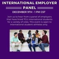 International employer panel