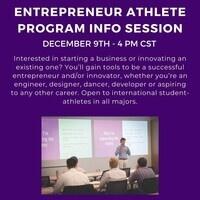 Entrepreneur athlete program
