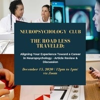 Neuropsychology Club LA | The Road Less Traveled