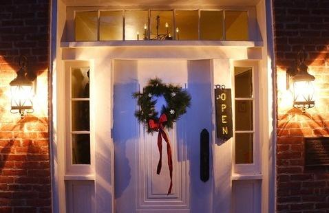 Bronnenberg Home lit doorway