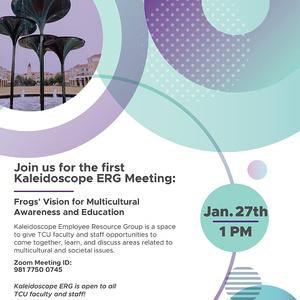 Kaleidoscope employee resource group graphic