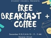 Free Breakfast & Coffee for Finals