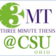 2021 THREE MINUTE THESIS AWARDS PROGRAM