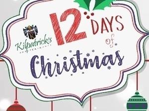 Kilpatrick's  Publick House 12 Days of Christmas