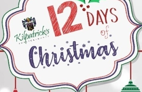 Kilpatrick's  Publick House 12 Days of Christmas