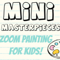 Mini Masterpieces: Zoom Painting for Kids