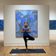 Yoga in the Galleries via Zoom