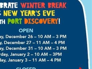 Winter Break Fun at Port Discovery