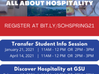Transfer Info Session with Hospitality!