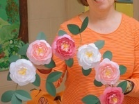 Garden Creativity at Home: Paper Blooms