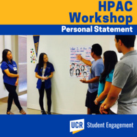 HPAC Workshop - Personal Statement