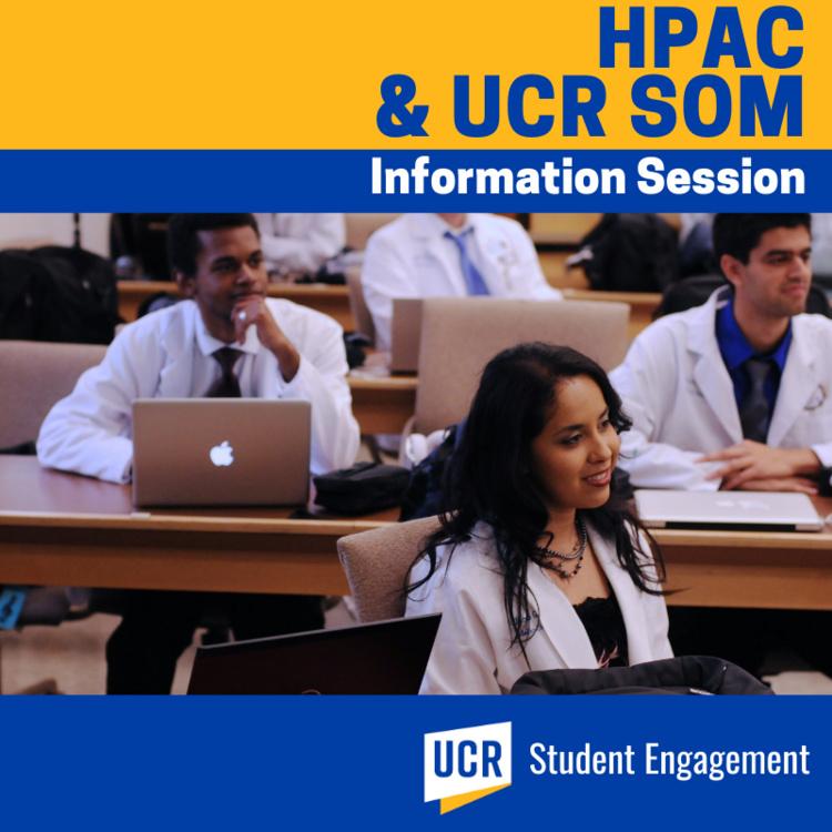 HPAC Workshop   UCR School of Medicine Pipeline Program