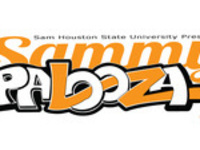Sammypalooza. The graphic almost looks like graffiti of the world 'Sammypalooza' and is meant to represent the party atmosphere.