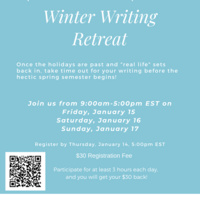 Winter Weekend Writing Retreat | Graduate Education & Life