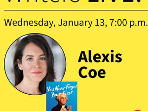Writers LIVE! Alexis Coe