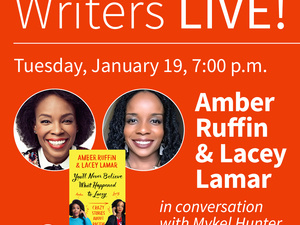 Writers LIVE! Amber Ruffin and Lacey Lamar