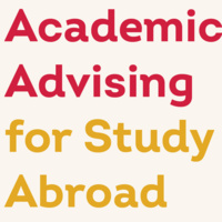 Academic Advising for Study Abroad