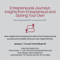 Entrepreneurial Journeys: Insights from Entrepreneurs and Starting Your Own