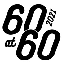 The College of Pharmacy  60 at 60 logo.
