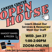 Welcome to the Career Center & Open House