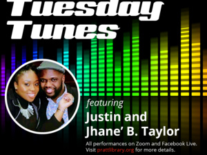 Tuesday Tunes: Justin & Jhane' B. Taylor