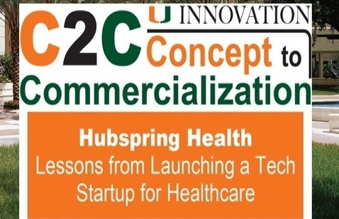 C2C: Hubspring Health, Lessons from a Tech Startup in Healthcare