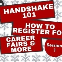 Handshake 101 - How to Register for Career Fairs & More (Session 1)