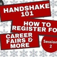 Handshake 101 - How to Register for Career Fairs & More (Session 2)