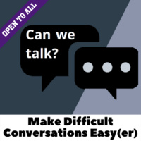 Difficult conversations graphic