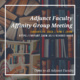 Adjunct Faculty Affinity Group