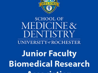 Junior Faculty Biomedical Research Association graphic
