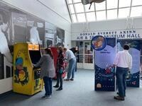 Back to the Cradle - December Break - Arcade Age Exhibit, F-14, and Back to the Future